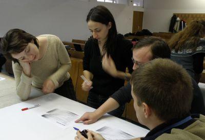 Training Trilex -- studentii masteranzi ai Facultatii de Informatica
