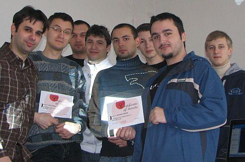 O parte dintre participantii la cercul de Adobe Flash (semestrul I)
