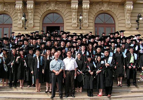 Ceremonia de absolvire a Facultatii de Informatica (2007)