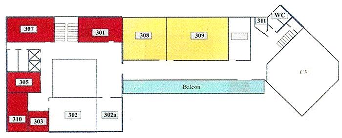 Facultatea de Informatică: etajul I