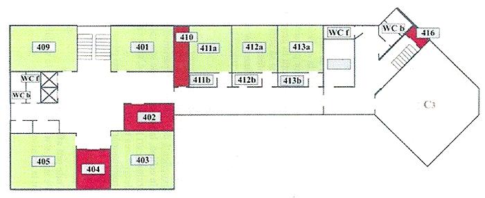 Facultatea de Informatică: etajul II