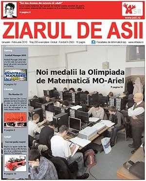 Ziarul de ASII, ianuarie-februarie 2010 (coperta)