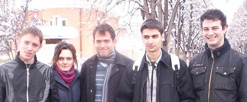 Echipa UAIC la Plovdiv