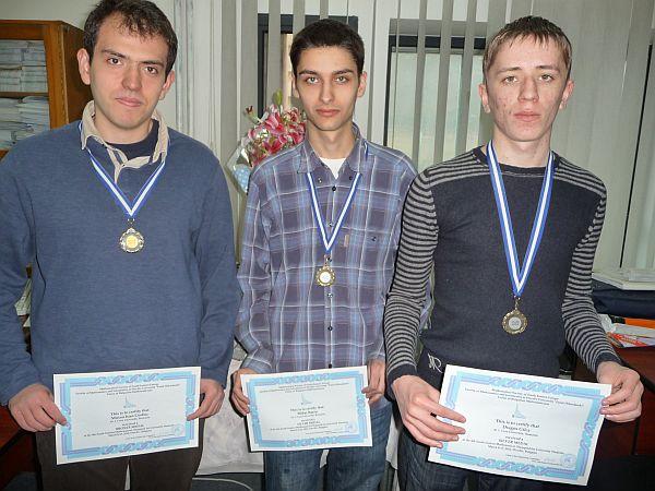 FII medaliat: Mircea Coșbuc, Mihai Bârzu, Dragoș Gîlcă