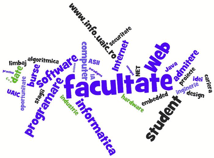 Student la Facultatea de Informatică, UAIC Iași