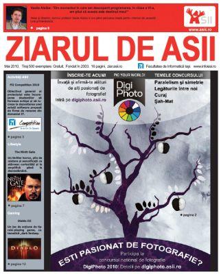 Ziarul de ASII, mai 2010 (coperta)