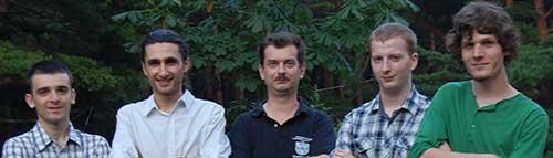 Juriul secțiunii Web: Mihai Oaida, Sergiu Strat, Sabin Buraga, Bogdan Gâza, Valentin Bora