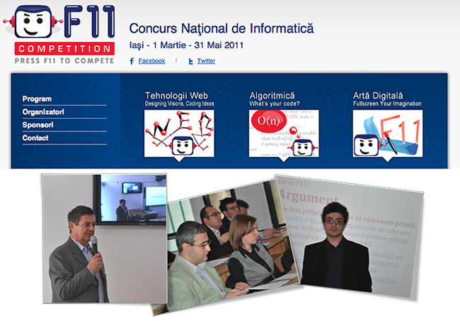 Concursul național de informatică F11 Competition