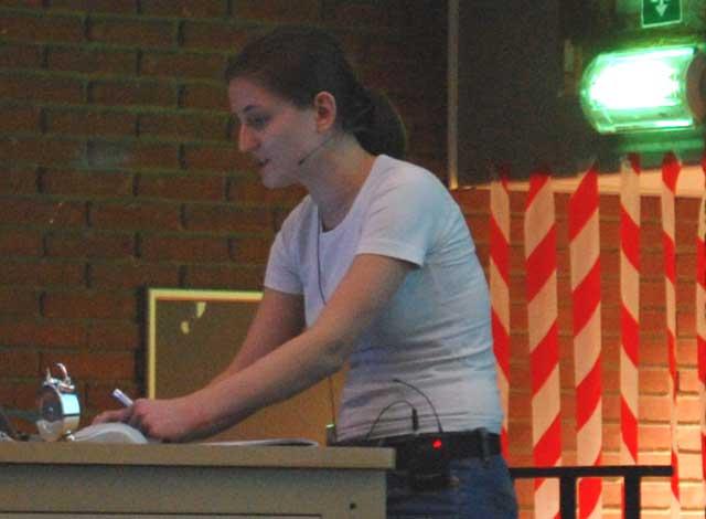FOSDEM 2011: Anca-Paula Luca