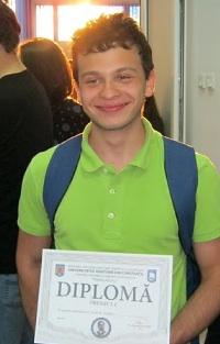 Premiul I pentru Ștefan Mihăilă