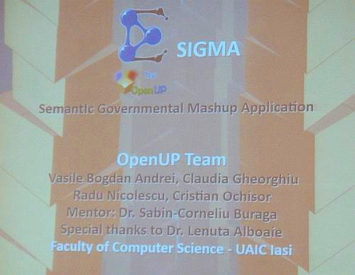 SIGMA — OpenUP