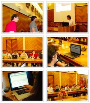 F11 Competition: momente de la susținerea proiectelor Web