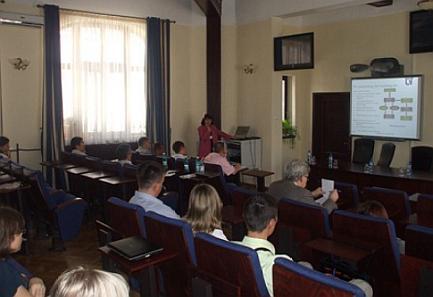 O prezentare în cadrul ECODAM 2011