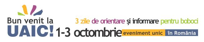 Bun venit la UAIC (1—3 octombrie 2011)